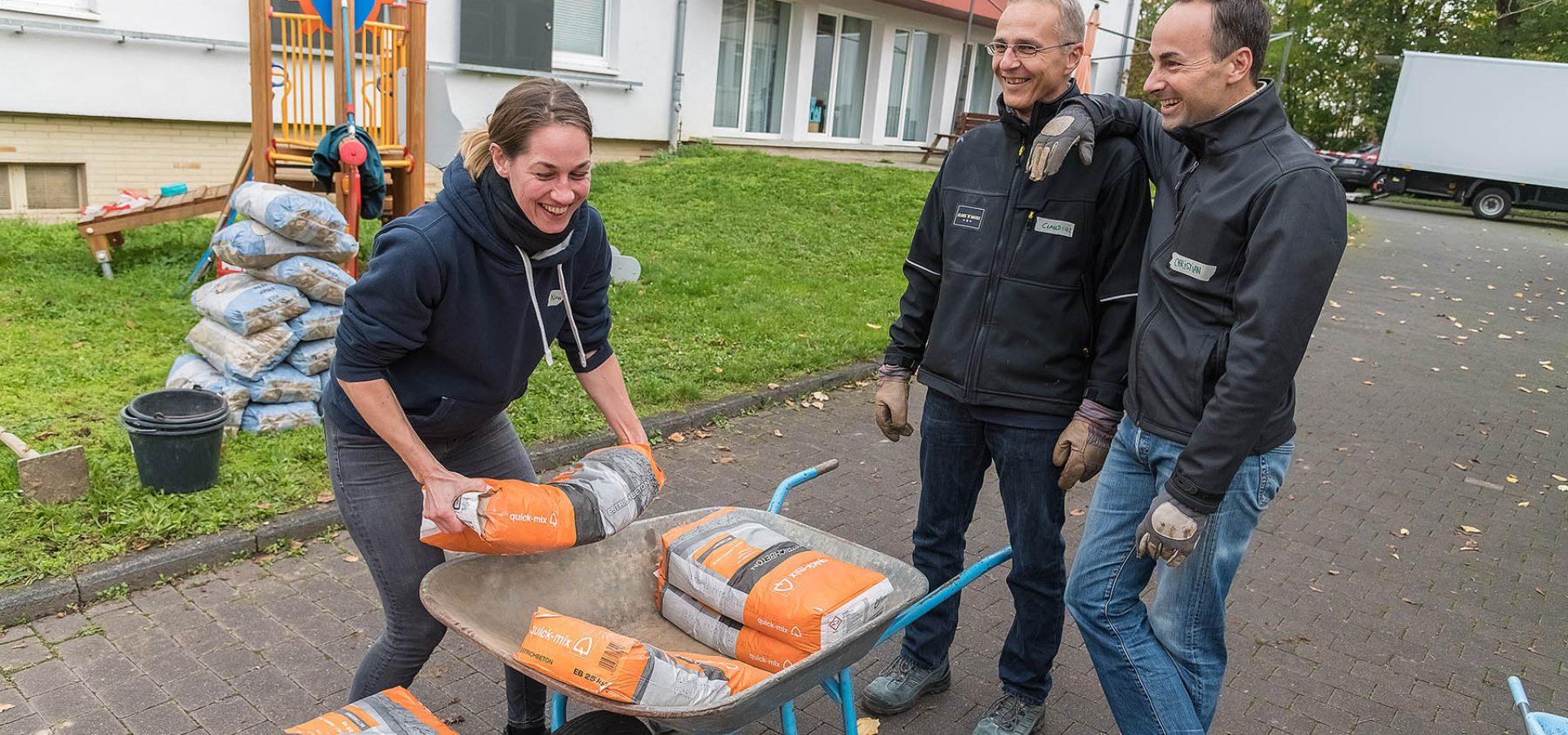 Carpus+Partner Frankfurt - Sozialprojekt Johannes-Vatter-Schule Friedberg Oktober 2019